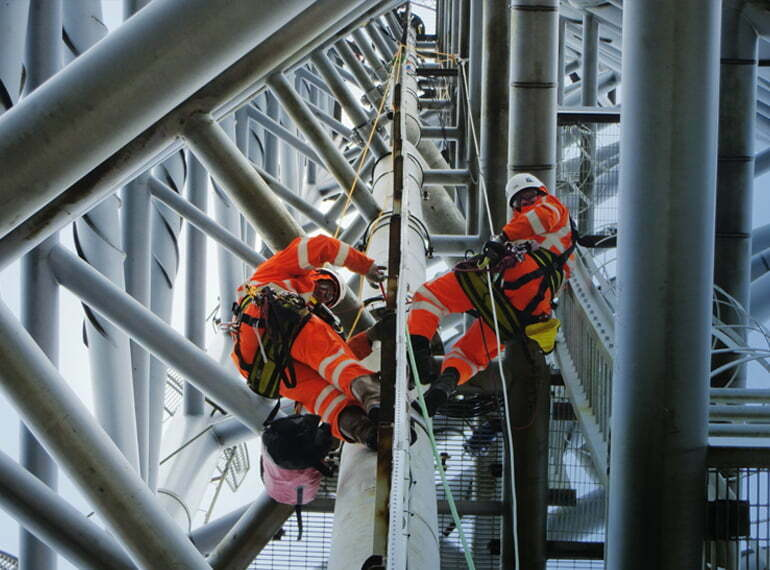 Rope Access Services – AIMMS Group :